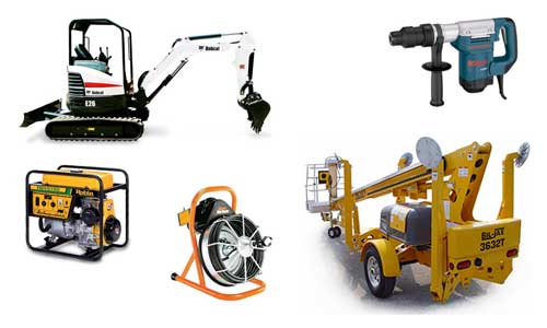 anderson ca equipment rentals