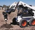Where to rent Skid Loader W Auger Attachment in Eden Prairie MN
