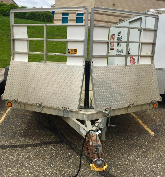 Where to find Trailer Snowmobile 8 X18  4 Place NoRamp in Eden Prairie