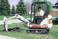 Where to rent Excavator Bobcat 322 7.5  Dept 18 bucket in Eden Prairie MN