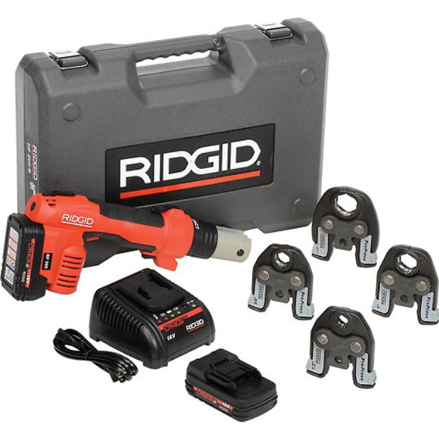 Where to find Press Tool Rigid Pro 1 2  - 1-1 4  18V in Eden Prairie